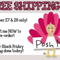 Perfectly Posh Sales for Thanksgiving Weekend and Black Friday!